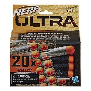 Brinquedo Conjunto Refil Nerf Ultra C/20 Dardos Hasbro E6600