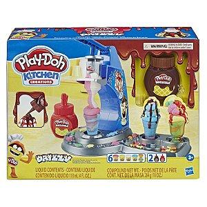 Brinquedo Massinha Play Doh Máquina de Sorvete Hasbro E6688