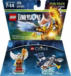 Lego Dimensions Fun Pack Lego Chima Eris Interceptor 71232