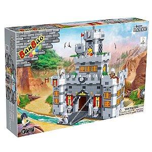 Brinquedo Bloco De Montar Castelo Medieval 8260 Similar Lego