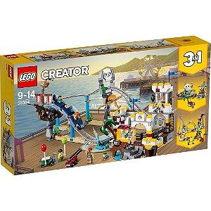 Lego Creator Modelo 3 Em 1 Montanhas Russas De Piratas 31084