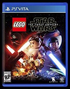Jogo Mídia Física Lego Star Wars The Force Awakens Ps Vita