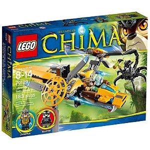 Brinquedo Lego Chima Avião De Duas Hélices De Lavertus 70129