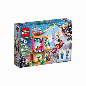 Brinquedo Lego Super Hero Girls Harley Quinn Resgate 41231