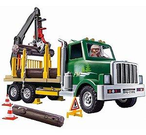 Brinquedo Playmobil Country Caminhão Transporta Madeira 9115