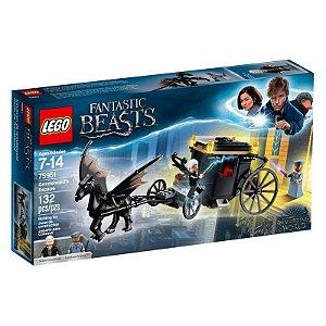 Brinquedo Lego Fantastic Beasts A Fuga de Grindelwald 75951