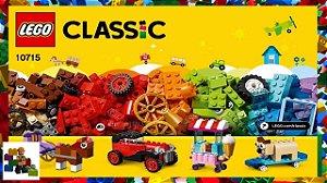 Brinquedo Lego Classic Peças Sobre Rodas 10715