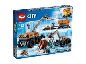 Brinquedo Lego City Base de Exploraçao Movel do Artico 60195