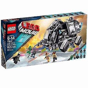 Brinquedo Lego Super Secret Polícia Dropship 70815