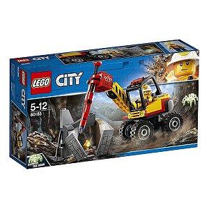 Brinquedo Blocos De Montar Lego City Veiculo Minerador 60185