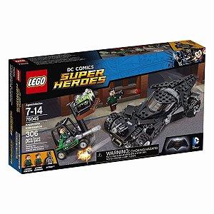 Brinquedo Lego Dc Super Herois Interceção Kryptonite 76045