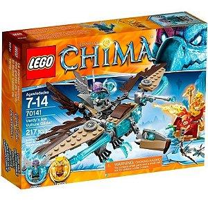 Novo Lego Chima Planador Abutre Do Gelo De Vardy 70141