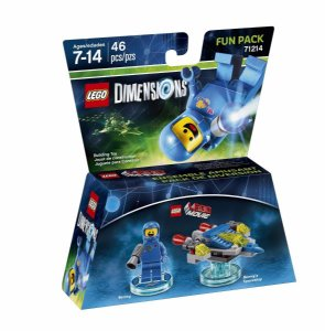 Novo Lacrado Lego Dimensions Movie Benny Fun Pack 71214
