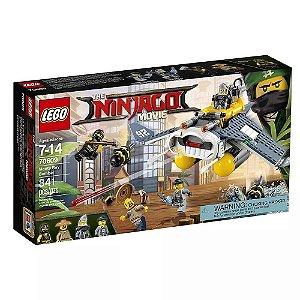 Brinquedo De Montar Lego Ninjago Bomber Arraia 70609