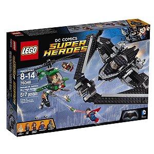 Brinquedo Lego Dc Herois Justiça Combate Alto No Ceu 76046