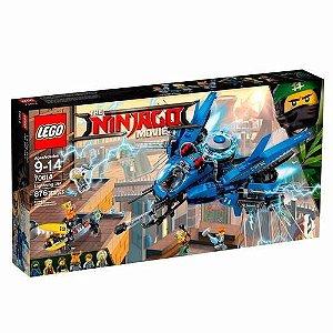 Brinquedo De Montar Lego Ninjago  Avião Relâmpago 70614