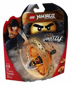 Brinquedo Lego Ninjago Cole Mestre De Spinjitzu 70637