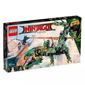 Brinquedo Montar Lego Ninjago Mech Dragon Green Ninja 70612