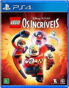 Jogo Mídia Física LEGO Os Incríveis Disney Para Ps4