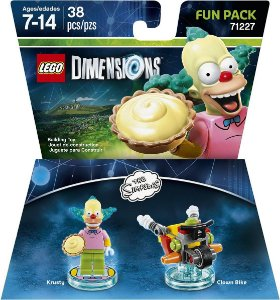 Kit Fun Pack LEGO Dimensions The Simpsons Krusty 71227