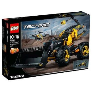 Lego Technic 42081 Protótipo Volvo Trator Carregador Zeux