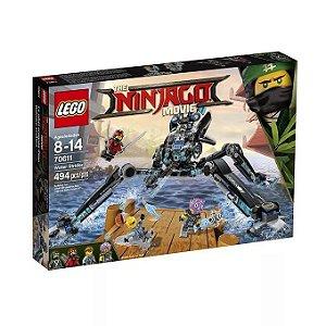 Brinquedo De Montar Lego Ninjago Aranha D'água 70611