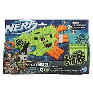 Brinquedo Lançador de Dardos Nerf Zombie Alternator E6188