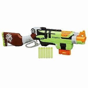 Lançador Lacrado Nerf Zombie Strike Slingfire Hasbro A8773