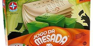 Jogo Novo Tabuleiro Jogo Da Mesada Original Estrela