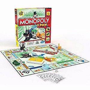 Brinquedo Jogo Tabuleiro Monopoly Junior Hasbro A6984