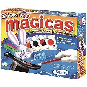 Jogo De Tabuleiro Show De Mágica Xalingo 0292.1