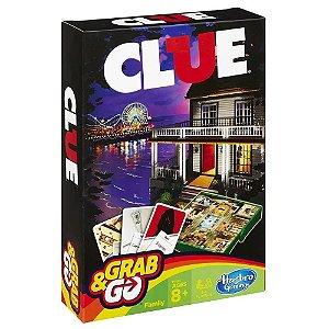 Jogo Portatil Tabuleiro Clue Grab Go Original Hasbro B0999