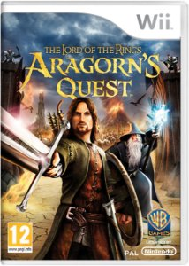 Jogo Lacrado The Lord of The Rings Aragorn Quest Wii