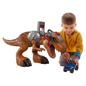 Brinquedo Big Dinossauro Rex Jurassic World Imaginext Fmx85
