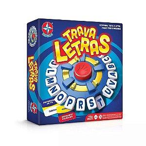 Brinquedo Novo Jogo Trava Letras  Original Estrela