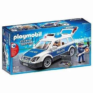 Playmobil City Action Carro de Policia e Guardas Sunny 6920