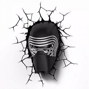 Nova Luminária Star Wars Episódio Vii Kylo Ren 3d Light Fx