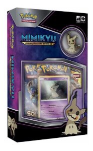 Novo Pokemon Mini Box Mimikyu Com Broche Copag