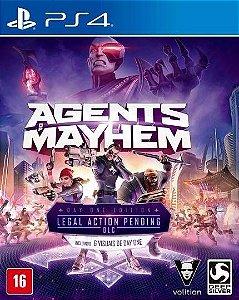 Jogo Mídia Física Agents Of Mayhem Original Playstation  Ps4