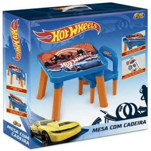 Nova Mesa Com Cadeira Hot Wheels Hw6020