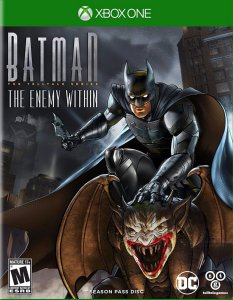 Jogo Mídia Física Batman The Enemy Within Para Xbox One