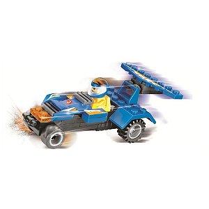 Brinquedo Blocos De Montar Super Carro Campeão Xalingo