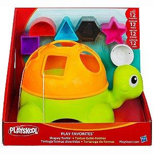 Brinquedo Playskool Tartaruga Formas Divertidas Hasbro 27078