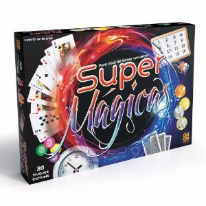 Novo Brinquedo Kit De Magicas Super Magicas Da Grow