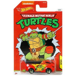 Hot Wheels As Tartarugas Ninjas Raphael e The Vanster Gdg83