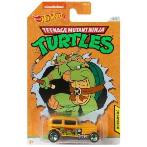 Hot Wheels As Tartarugas Ninjas Michelangelo Midnight Gdg83