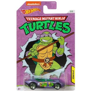Hot Wheels As Tartarugas Ninjas Donatello e Rrroadster Gdg83