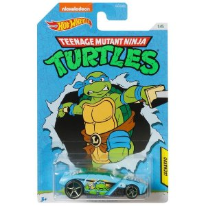 Hot Wheels As Tartarugas Ninjas Leonardo e Rogue Hog Gdg83