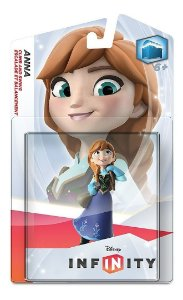 Boneco Lacrado Novo Disney Infinity Single Figure Anna