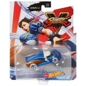 Hot Wheels Veiculo Street Fighter Carro Chun-Li Mattel Gjj23